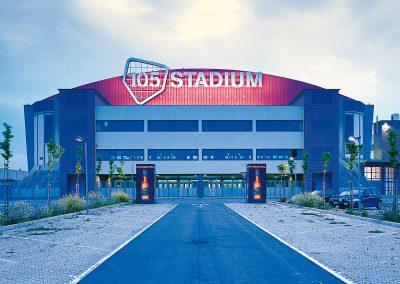 impianti elettrici 105 stadium Rimini
